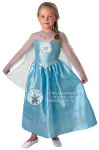 deluxe frozen elsa dress girls fancy dress disney princess