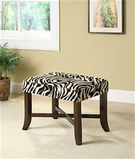 zebra vanity bench 17 best images about ottomans for foot of bed on pinterest vanity stool ottomans