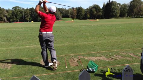 francesco molinari swing 70 open italia golf francesco molinari swing slow youtube