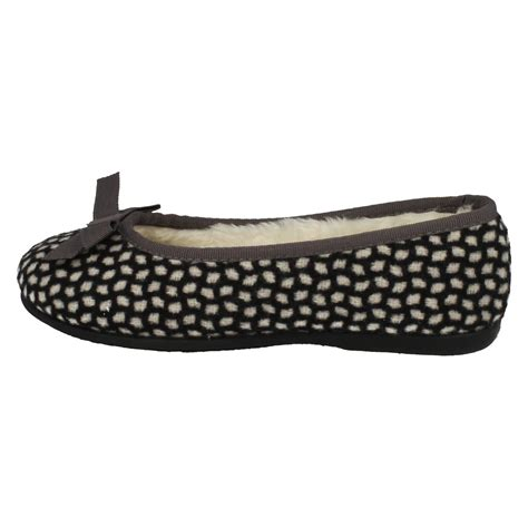 ballerina house slippers clarks warmlined ballerina style house slippers