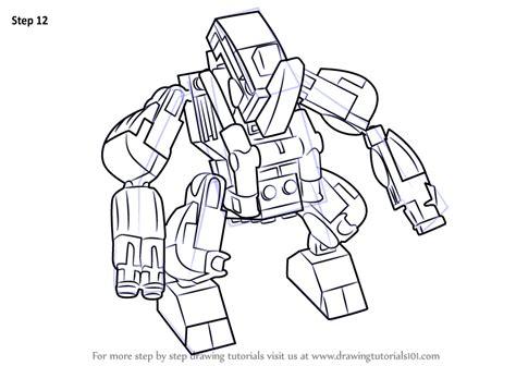 lego rhino tutorial learn how to draw lego rhino lego step by step drawing