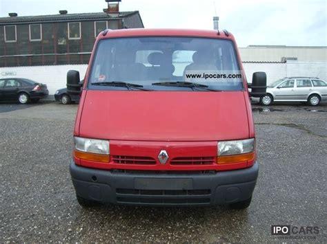 1999 renault master 2 5 d l1h1 minibus air 6 seater