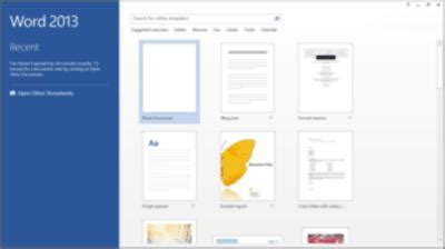 begin a new document by searching templates for cards tech tips how to create a new document using a template