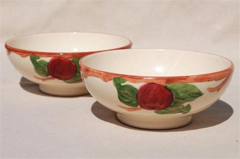 apple dishes vintage franciscan apple pottery dinnerware american made