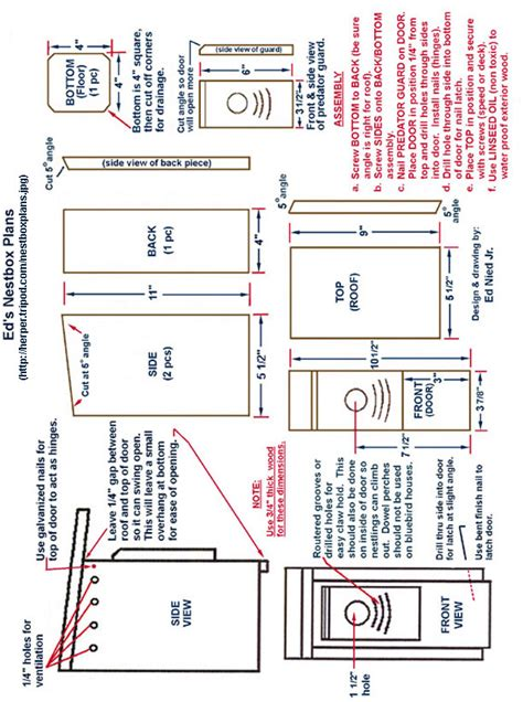 Woodwork Bluebird House Plans Pdf Plans Bluebird House Plans Pdf
