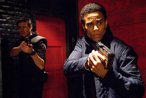 michael ealy get your number almost human interview j h wyman talks evolution from