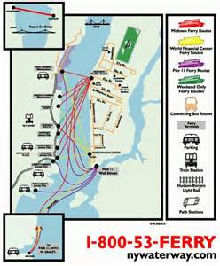 New York Ferry Map by Hoboken Transportation Mile Square Homes Keller