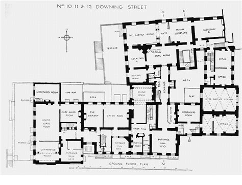 10 Downing Street Floor Plan | houses of state downing street floor plans london 10