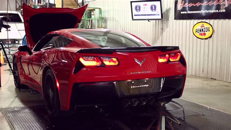 C7 Corvette Turbo Kit by Hpe700 Turbo C7 Corvette Chassis Dyno Testing