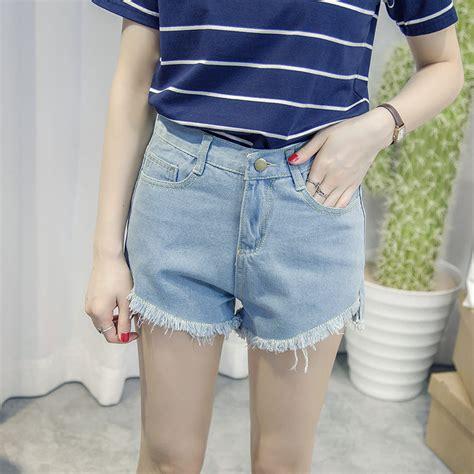 Hotpants Wanita 1 denim wanita size l light blue jakartanotebook
