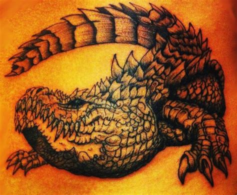 tribal crocodile tattoo designs alligator alligator tattoos