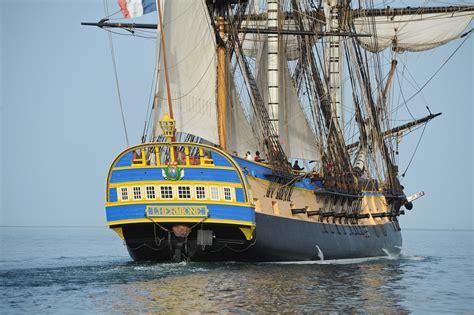 hermione bateau en images l hermione la r 233 plique de la fr 233 gate de la