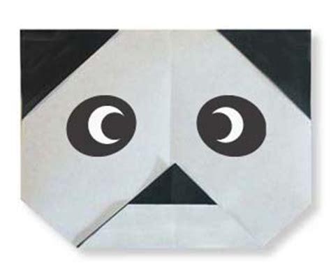 Easy Origami Panda - panda easy origami for