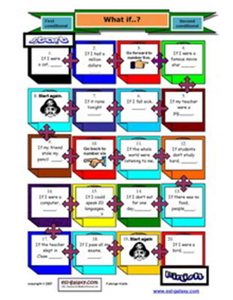 grammar board games ks2 printable printable conditional sentences first second third