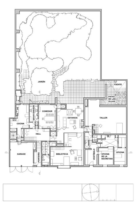 barragan house plan search casa cohen