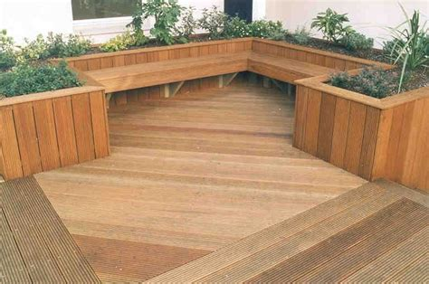 deck benches with planters best 25 planter bench ideas on pinterest built in