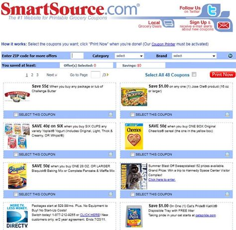 good website for printable grocery coupons the 5 grocery printable coupon websites online towards