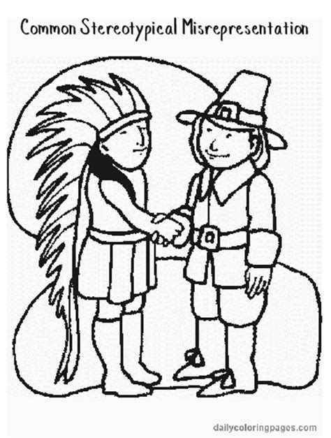 Manyhoops Com Coloring Pages Thanksgiving Squanto Coloring Pages