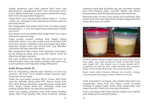 Kefir Kambing 48 Jam Prima Fermentasi Grain pedoman pembuatan dan poemanfaatan kefir