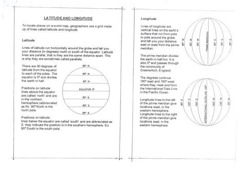 printable quiz on latitude and longitude worksheet longitude and latitude worksheet grass fedjp