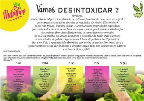 Dieta Detox 1 Dia by Nutrirce Daytox 1 Dia Dieta L 237 Quida Fortaleza