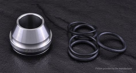 Wide Bore Drip Tip Black 316 Stainless Steel For 24mm Rda 24 Mm 3 74 yftk 316 stainless steel wide bore drip tip for