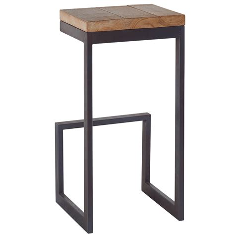 Tabouret Cocktail Scandinave by Tabouret Haut En Sapin Massif Au Look Industriel Chic