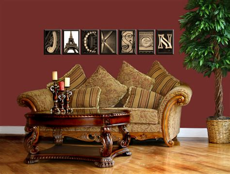 art home decor alphabet photos home decor design ideas holiday gift