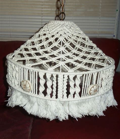 Macrame Craft - featured collectible vintage macrame 70 s craft series