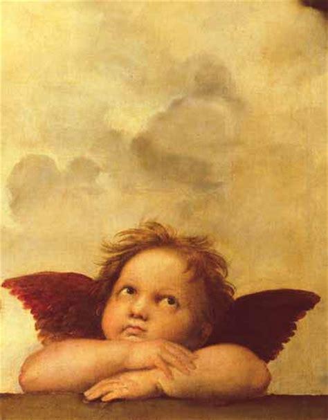 cuadros de rafael sanzio cuadro quot los dos angeles detalle angel dcha quot cuadros