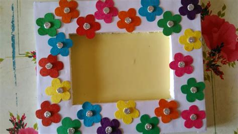 how to make collage frame at home how to make beautiful photo frame simple photo frame