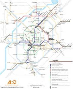 Atlanta Train Map by Atlanta Transit Fantasy Map Marta Subway Light Rail