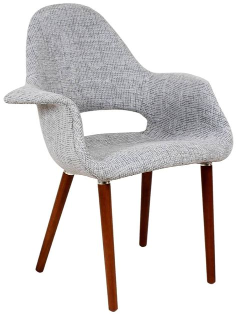organic armchair eames saarinen organic upholstered arm chair ebay