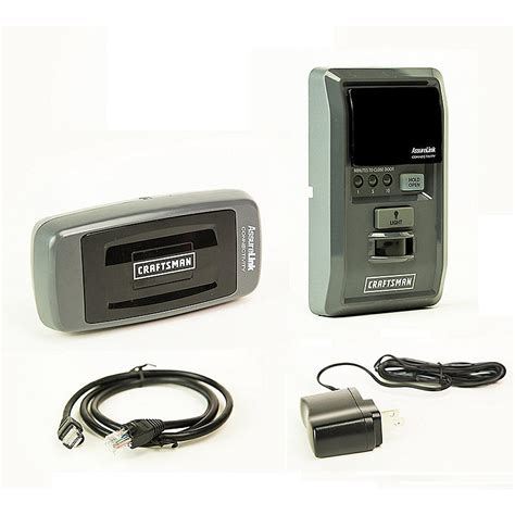 Garage Door Opener With Smartphone App Craftsman 53999 Assurelink Garage Door Opener
