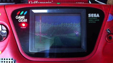 Game Gear Light Mod | game gear lcd mod led fix and audio repair youtube