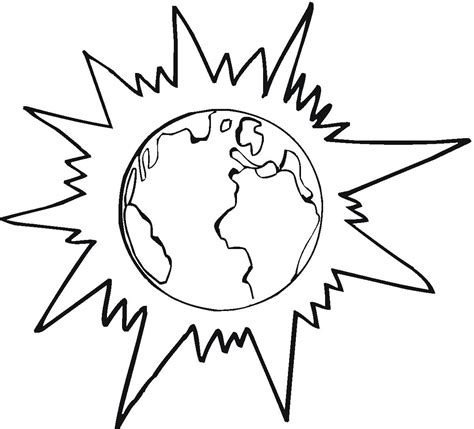 earth coloring page printable free printable earth coloring pages for kids