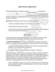 Free Prenuptial Agreement Template Canada by Prenup Form W Prenuptial Agreement Sle Template