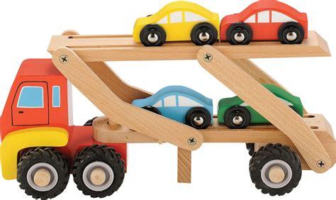 Auto Aus Holz by Auto Transporter Mit 4 Auto 180 S In Bunten Farben Material