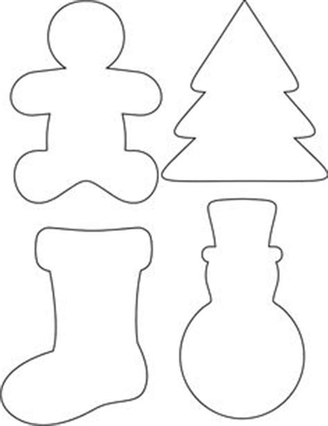 christmas ornament shapes to print printable ornament shapes trace around your chosen template onto the back of festive