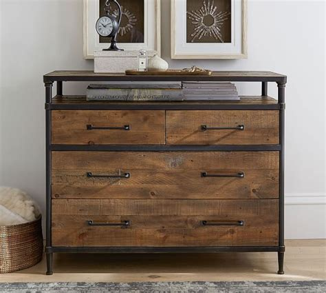 Barn Wood Dresser by Juno Reclaimed Wood Dresser Pottery Barn
