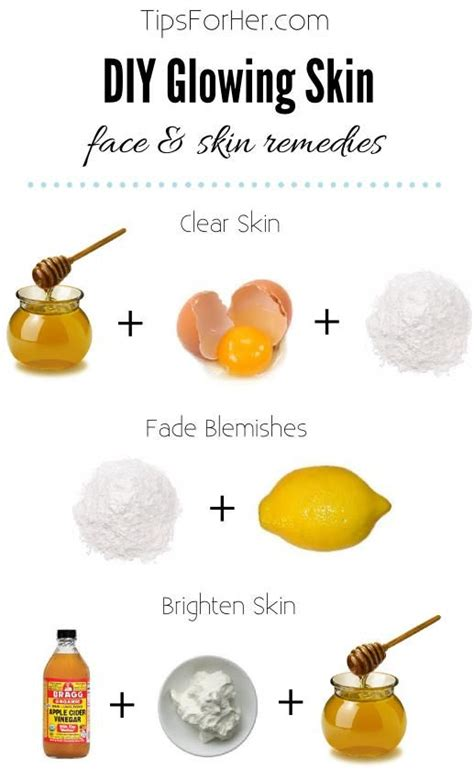 diy mask to clear skin diy glowing skin skin remedies 3 powerful