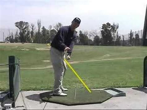 golf swing plane drill the 15 minute swing golf instruction drill for a connected takeaway youtube