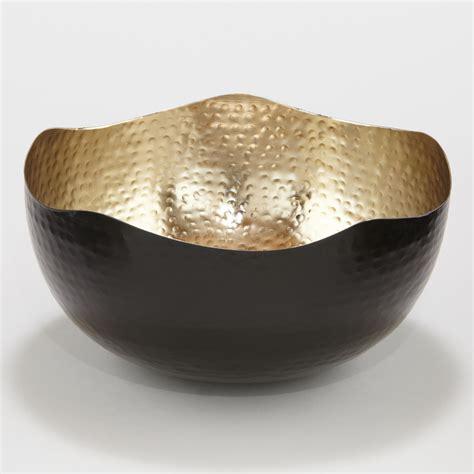 metal bowls metal organic hammered bowl world market