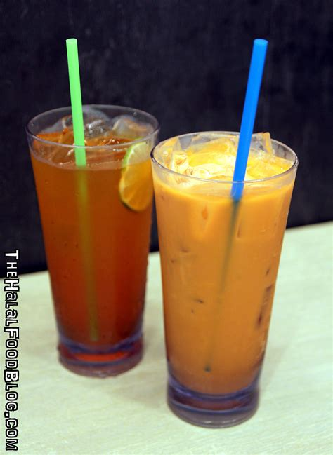Milk Thai Tea Original Teh Thailand Asli Thaitea saap saap thai the halal food