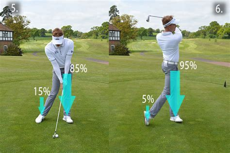 golf swing front foot strike your irons better me and my golf