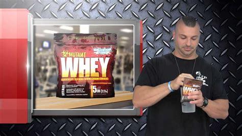 r protein mutants mutant whey protein supplement review taste test