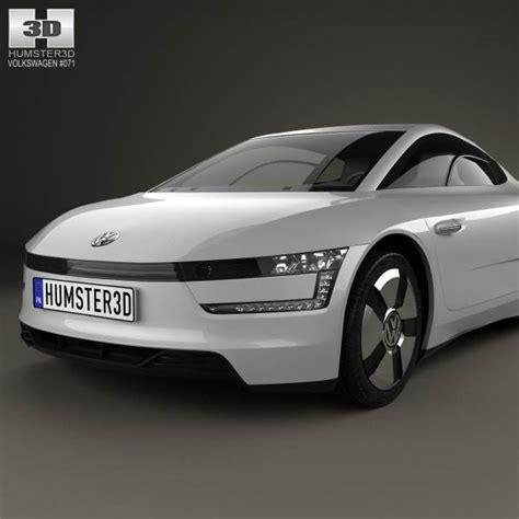 volkswagen models 2013 volkswagen xl1 2013 3d model hum3d
