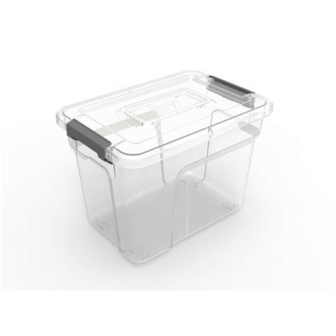 ezy storage solutions 3l storage tub bunnings warehouse