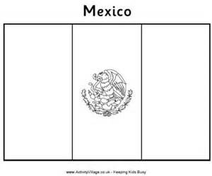 mexican flag coloring page port of call countries
