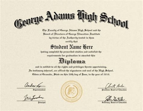 Us High School Diploma Style 2 Buy Diploma Online Maryland High School Diploma Template